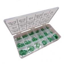 Oring seti R134a Yeşil oring HNBR (265 adet)